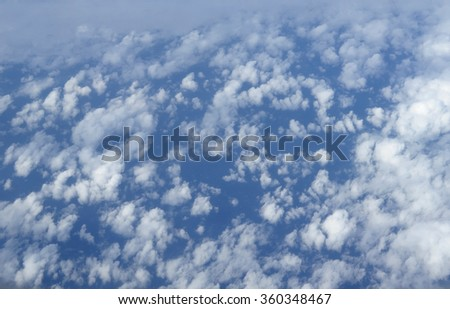 cloud from sky - stock photo