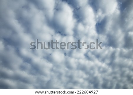 Cloud Texture - stock photo