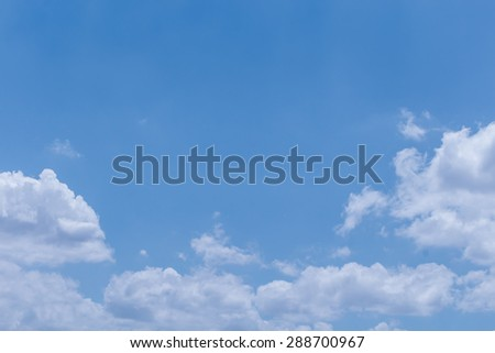 Clouds sky background - stock photo