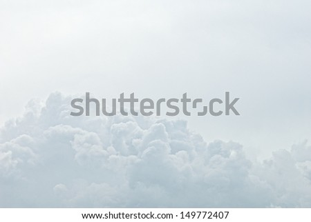 Clouds Within Clouds  - stock photo