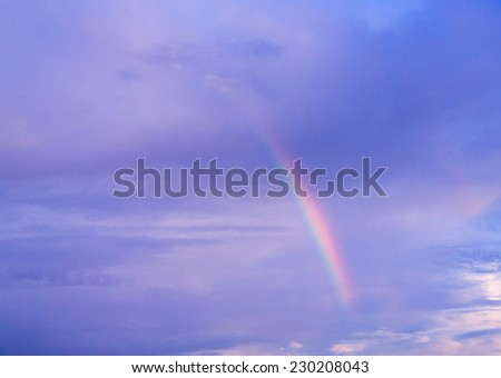 Cloudscape Divine After the Storm  - stock photo