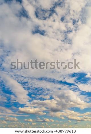 Cloudscape Divine Summer Heavens  - stock photo