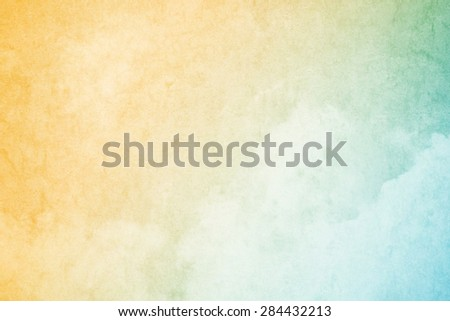 cloudscape with grunge texture abstract background - stock photo
