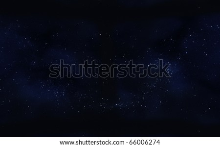 clusters star in space - stock photo