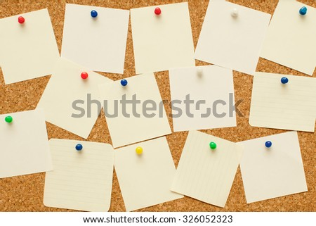 coark board - stock photo