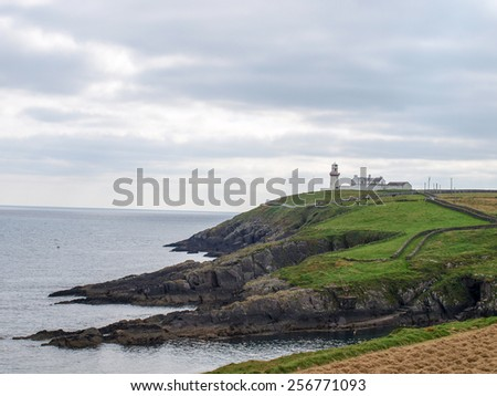 Coast Ireland - stock photo