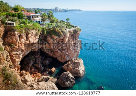 Coast of Antalya, Turkey - stock photo