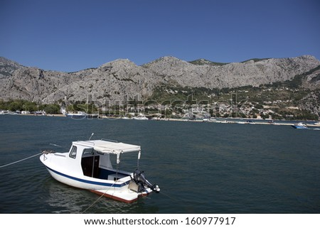 coast of croatia - stock photo