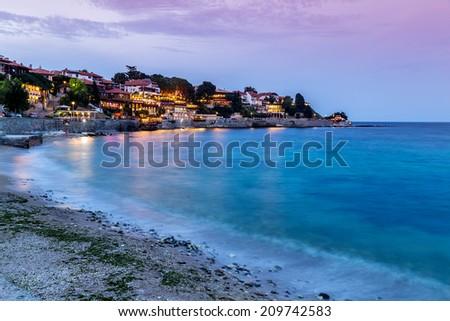 Coastal City - stock photo