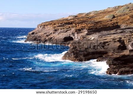 Coastal Waves - stock photo