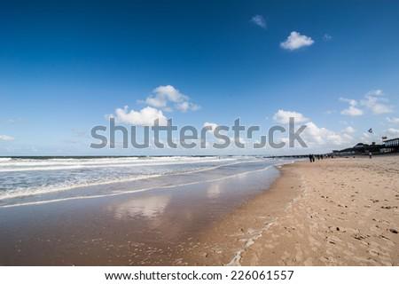 Coastline of Zeeland, Netherlands - stock photo