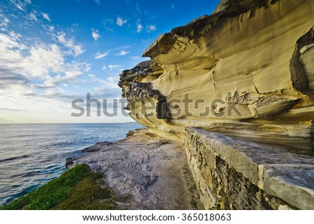 Coastline, Sydney, NSW Australia - stock photo