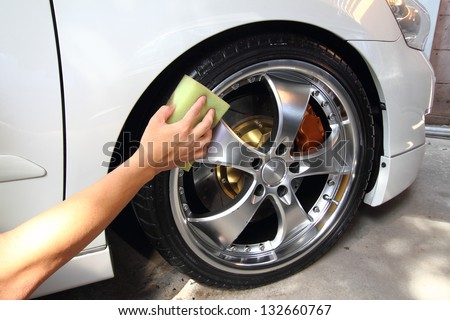 Coated wheels - stock photo