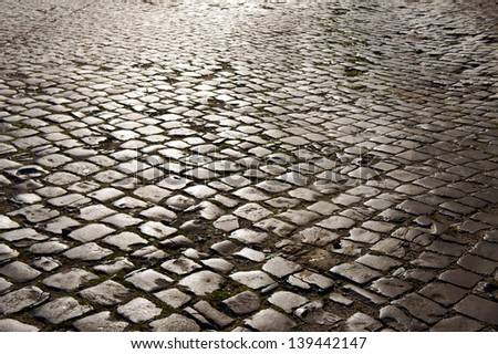 Cobblestone Street Stock Photos Images Pictures