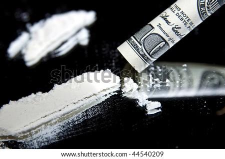 Cocaine - stock photo