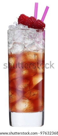 Cocktail almond liquor sling - stock photo