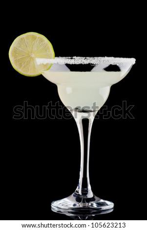cocktail 'margarita' - stock photo