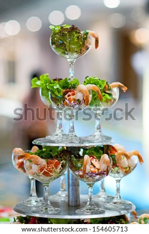 Cocktail Set for events - stock photo