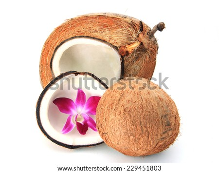 Coconut - stock photo