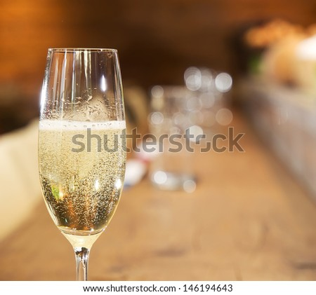 Coctail. alcohol drink. - stock photo