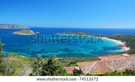 Coda Cavallo - Sardinia - stock photo