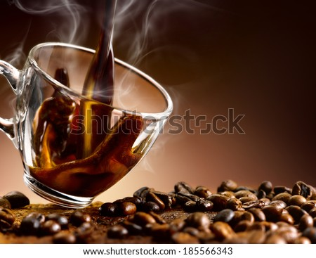 coffee ' - stock photo