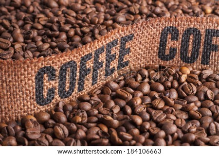 Coffee Bean - stock photo