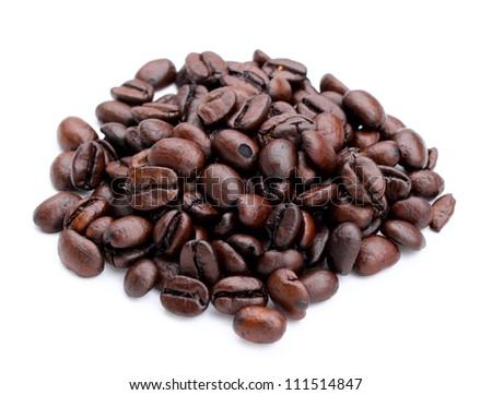 coffee bean close up - stock photo