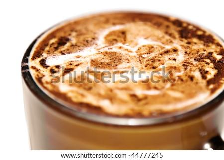 coffee close-up - stock photo