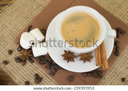 Coffee. Coffee Espresso. Cup Of Coffee - stock photo