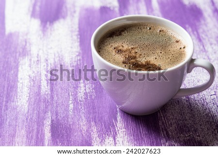 Coffee cup - stock photo