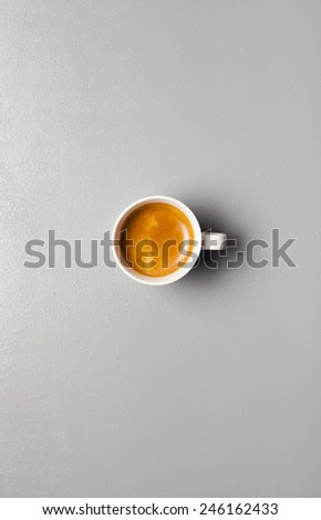 coffee espresso - stock photo