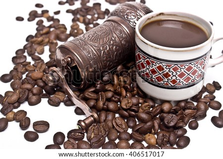 coffee grinder - stock photo