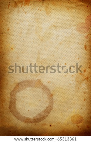 Coffee grunge background with coffee beans. - stock photo