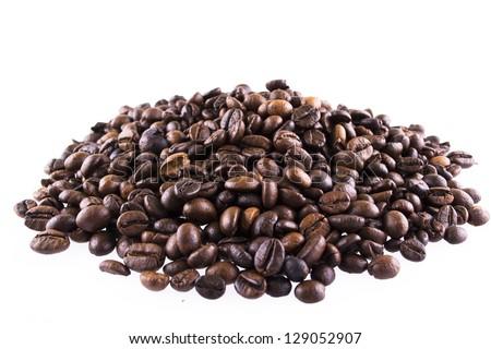Coffee hill - stock photo