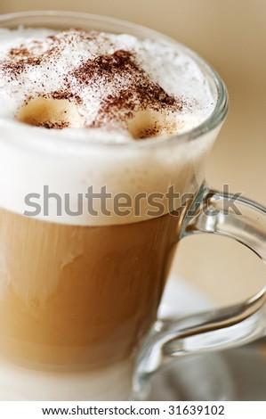 Coffee Latte Macchiato - stock photo