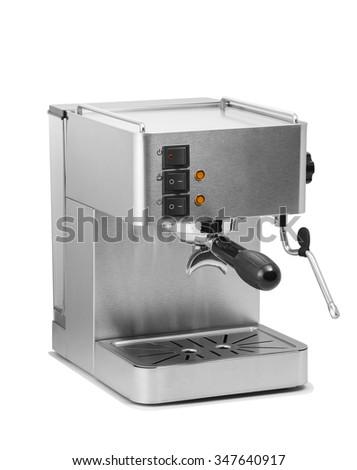 Coffee machine - stock photo