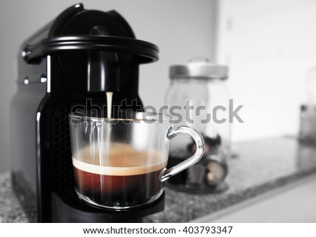 Coffee Machine  - stock photo