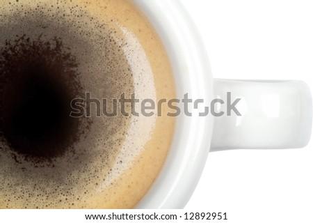 coffee macro - stock photo