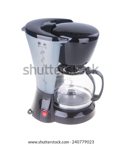 Coffee Maker. Coffee Maker on the background. - stock photo