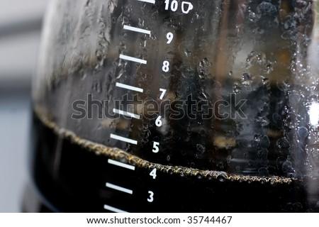 Coffee pot - stock photo