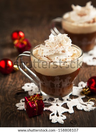 Coffee Punch - stock photo