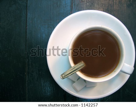 Coffee table - stock photo