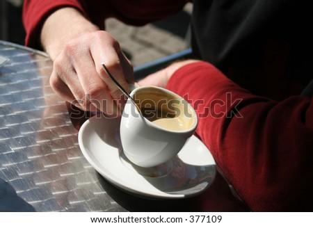 Coffee Time? - stock photo