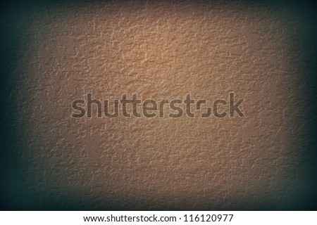 coffee wall texture vignette - stock photo
