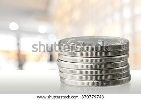 Coin. - stock photo