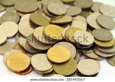 Coin stock - stock photo