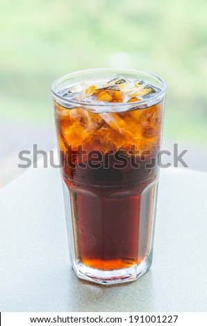 Cola drink - stock photo