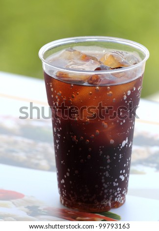 Cola drink - stock photo