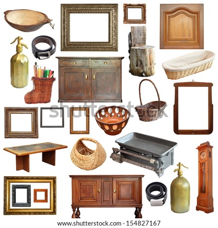 Object group stock photos images pictures shutterstock for Old objects